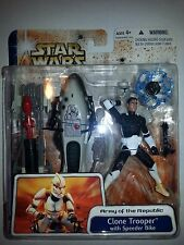 CLONE WARS: ARMY OF THE REPUBLIC: CLONE TROOPER with SPEEDER BIKE