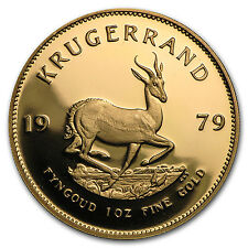 1979 South Africa 1 oz Proof Gold Krugerrand - SKU #23735