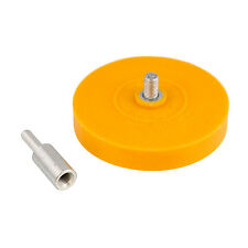 """TCP Global SR-400 4"""" Smart Eraser Pad For Pinstripe Removal Tool With 1/4"""" Drill"""
