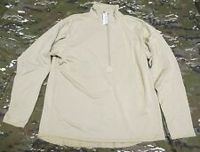NEW US ARMY ECWCS POLARTEC POWER DRY WAFFLE/GRID FLEECE SHIRT. LARGE-REGULAR.