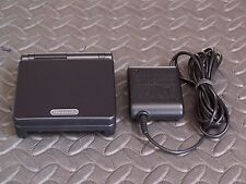 Nintendo Game Boy Advance SP Black onyx Handheld System AGS001
