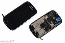 DISPLAY LCD + TOUCH SCREEN VETRO ASSEMBLATO PER SAMSUNG GALAXY S3 MINI I8190 BLU