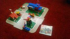 Joblot: Legoland: 355-1 Town Centre Set with Roadways + 490-1 Mobile Crane