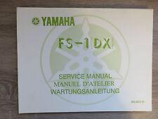 Yamaha Istruzioni per la manutenzione FS-1 DX FS1 ´77 manuale di servizio