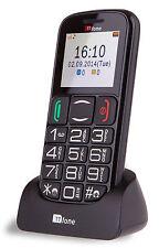 TTFone Mercury 2 Big Button Basic Semplice Anziano Cellulare Sbloccato SIM Gratis