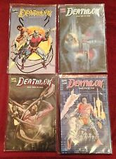 Marvel Comics DEATHLOK Mini Series Books 1 2 3 4 Prestige Format 1990