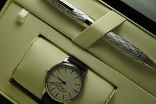West end Alexandria with sapphire crystal glass Swiss Wrist Watch & Sheaffer Pen