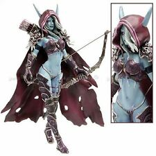 "WOW WORLD OF WARCRAFT- SYLVANAS WINDRUNNER 18 CM/ FIGURE SYLVANAS 7"" IN BOX"