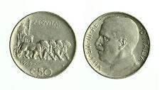 pcc1564_11) Vittorio Emanuele III (1900-1943) - 50 Centesimi Leoni 1925 R