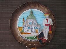 Brand New Large Italy, Venice Chiesa della Salute Souvenir Collectible Plate