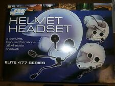 J&M Communication Helmet Audio Noise Cancelling *NEW* Ear Flip Headset NO MIC