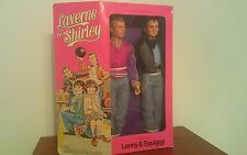 "MEGO LAVERNE & SHIRLEY LENNY  SQUIGGY 12"" DOLLS MIB 1977  - TV DOLLS"