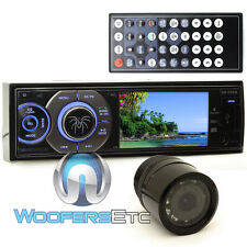 "pkg SOUNDSTREAM VR345B 3.4"" CD DVD BLUETOOTH USB SD CAR STEREO + HTC36 CAMERA"