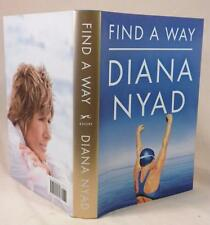 Diana Nyad, FIND A WAY, Signed (title page), 1st/1st, New