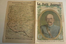 PETIT JOURNAL- 1917 - N° 1378 - Gal Pont - front offensive franco anglaise 2