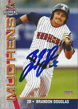 Brandon Douglas 2013 Toledo Mud Hens Signed Card