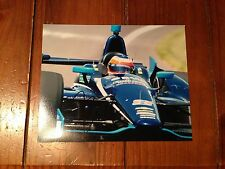 RUBEN BARRICHELLO SIGNED AUTOGRAPHED 8X10 PHOTO INDY 500 COA A