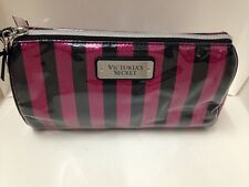 VICTORIA'S SECRET VS COSMETIC MAKEUP TRAVEL POUCH BEAUTY BAG BOMBSHELL STRIPE
