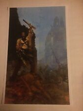 ARMY OF DARKNESS FROM THE ASHES 1 POSTER PRINT SUYDAM SIGNED COA EVIL DEAD ASH