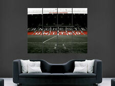 OLD TRAFFORD POSTER FOOTBALL GIANT WALL POSTER ART MAN UNITED