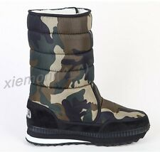 Mens Waterproof Camo Warm Winter Snow Snow Ankle Boot Thicken Shoes Fleece 13 47