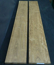 "2ea.  4/4  Figured Caribbean Rosewood/Chechen   7 1/2"" X 57"""