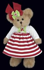 "10"" CANDY*Bearington Teddy Bear**NEW 2013*NWT*Christmas*Holiday*Peppermint*"