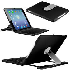 For Apple iPad Air 2 360 Rotating Swivel Bluetooth Keyboard Folio Case Cover