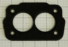 "ROCHESTER 2 BARREL CARB TO INTAKE INSULATOR / GASKET 1/4"" THICK REINF CORNERS"