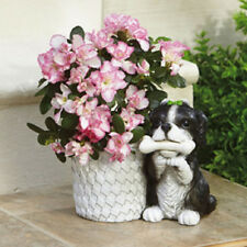 NEW Dog Planter Puppy Springer Spaniel?  Hand-Painted Large Deluxe SALE