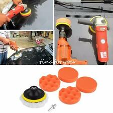 "7pcs 3"" High Gross Polishing Buffer Pad Set + Drill Adapter M14 - For Car polish"