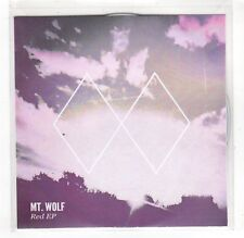 (GR161) MT Wolf, Red EP - 2015 DJ CD