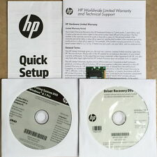 HP OEM Windows 8.1 Pro (X64) Full Recovery/Restore/Repair + Driver Recovery DVD