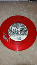 "MEMPHIS MAY FIRE Matty Mullins SIGNED AUTOGRAPHED 7"" RED VINYL EP #B"