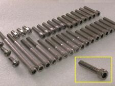 Honda NX500, NX650 Dominator Engine Covers 30pcs Stainless Allen Bolt & Nut Kit