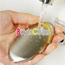 Portable Stainless Steel Soap Eliminating Kitchen Bar Odor Smell Useful Tool HY