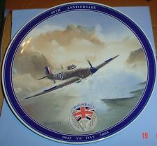 Wedgwood Collectors Plate V E DAY 60TH ANNIVERSARY Daily Mail #4