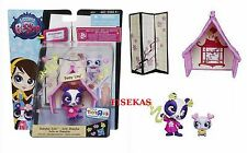LPS Littlest Pet Shop Penny Ling Shanhai Suite Style Set Baby Panda #3737-38 NEW