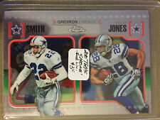 2010 Topps Chrome Gridiron Lineage #CGLSJ Emmitt Smith/Felix Jones COWBOYS