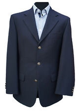 """NEW - Navy Blue Single Breasted Blazer 42"""" Long (RRP £139)"""