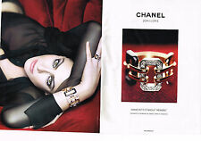 PUBLICITE ADVERTISING 035  2011  CHANEL joaillierie  ( 2pages)