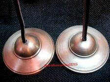 """Hand Crafted 3"""" High Quality Tibetan Buddhist Tingsha Cymbals Bell"""
