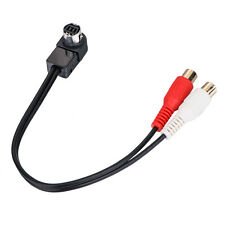 APS US SHIPPING AUX CABLE FOR JVC HEADUNIT JLINK TO Aux Input RCA Adapter KS-U57