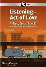 Listening Is an Act of Love: A StoryCorps Special (DVD, 2014) PBS Distribution