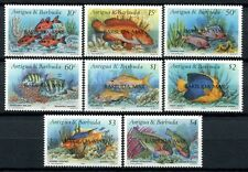 BARBUDA 1990 Fische Fishes Poissons Pesci  1220-1227 **