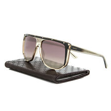 Gucci 3705S Sunglasses HXUR4 Grey Black Crystal / Grey Gradient Lens