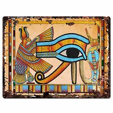 PP0795 Egypt Symbol Chic Plate Sign Home Store Shop Restaurant Cafe Decor Gift