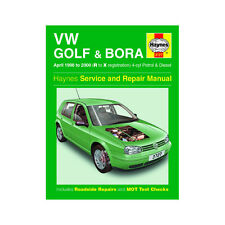 VW Golf Bora 1.4 1.6 1.8 2.0 Petrol 1.9 Diesel 98-00 (R to X Reg) Haynes Manual
