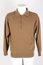 BARISAL feingestrickter Pullover  Gr. 48 / S 100% Kaschmir beige