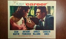 1959 Original Lobby Card - Career - 11x14, Anthony Fransciosa, Carolyn Jones